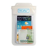 DICAPAC Waterproof Bag [WP-565] - White (C) - Plastik Handphone / Waterproof